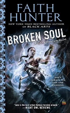 Early Review & Giveaway: Broken Soul by Faith Hunter (Blog Tour)