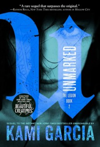 cover unmarked by kami garcia