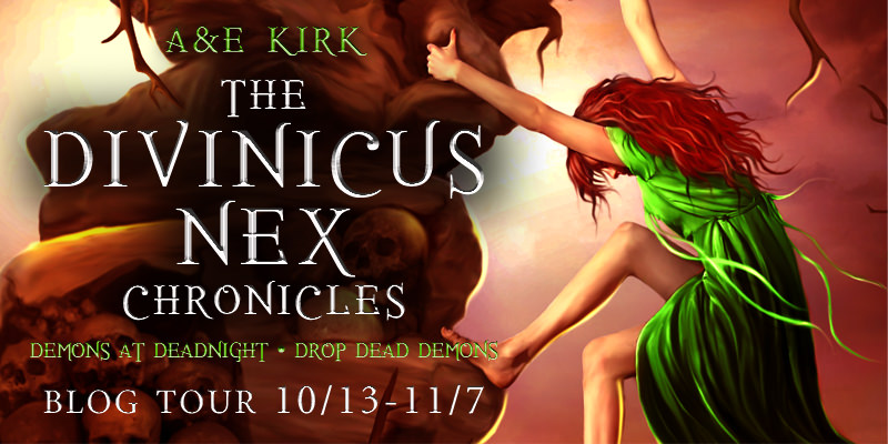 Guest Post: The Secrets Behind Divinicus Nex Chronicles by A&E Kirk (Blog Tour & Giveaway)