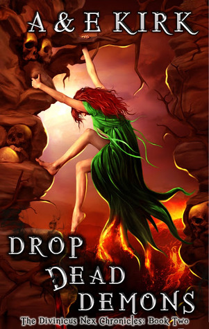 cover drop dead demons by A&K Kirk