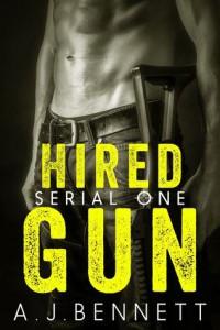 cover hired gun by aj bennett