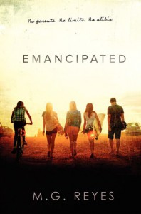 cover emancipated by mg reyes