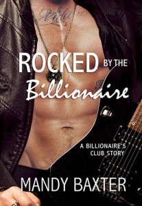 cover rocked by the billionaire by mandy baxter