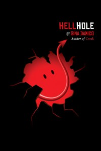 cover the hell hole by gina damico