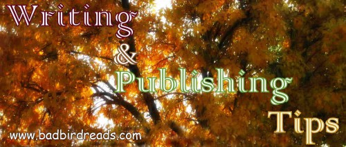 writing and publishing tips banner new
