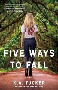cover five ways to fall by ka tucker