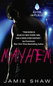 cover mayhem by jamie shaw