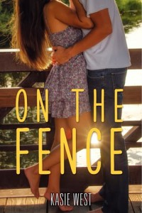 cover on the fence by kasie west