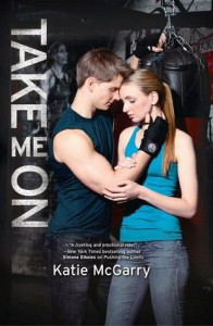 cover take me on by katie mcgarry