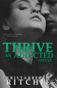 cover thrive by krista ritchie