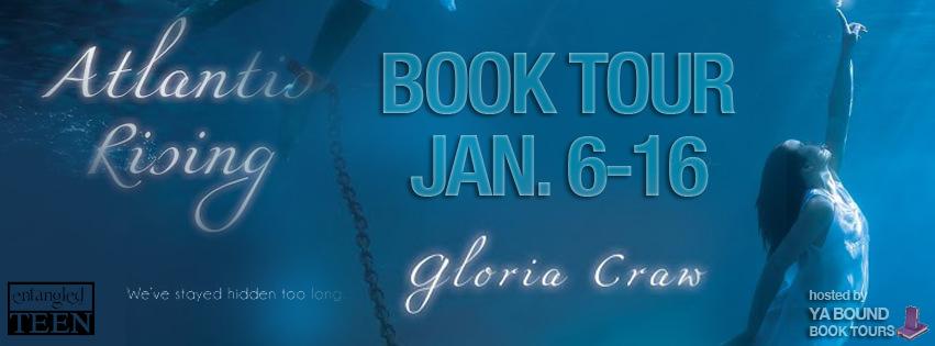 Review: Atlantis Rising by Gloria Craw (Blog Tour & Giveaway)