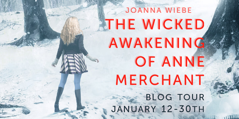 Guest Post: How I Handle (or Don't Handle) Reviewer Criticism by Joanna Wiebe, Author of The Wicked Awakening of Anne Merchant (Blog Tour & Giveaway)