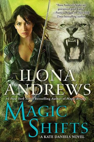 cover magic shifts by ilona andrews
