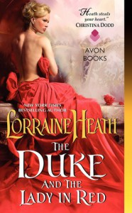 cover the duke and the lady in red by lorraine heath
