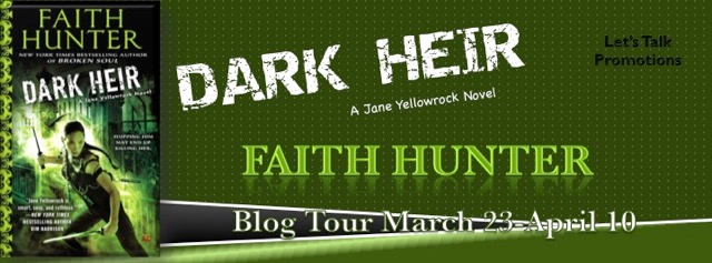 Early Review & Author Interview: Dark Heir by Faith Hunter (Blog Tour)