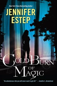 cover cold burn of magic by jennifer estep