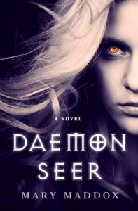 cover daemon seer by mary maddox