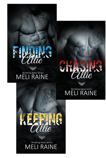 Excerpt & Giveaway: Breaking Away Series by Meli Raine (Book Blitz)