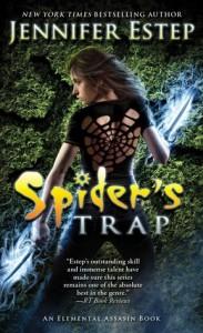 cover spider's trap by jennifer estep