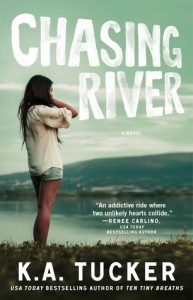 cover chasing river by k.a. tucker