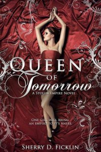 cover queen of tomorrow by sherry ficklin