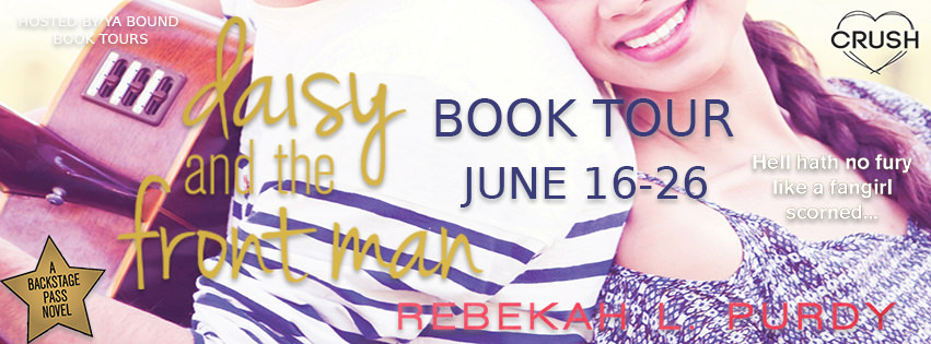 Review: Daisy and the Front Man by Rebekah L. Purdy (Blog Tour & Giveaway)