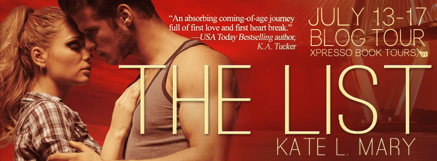 Review: The List by Kate L. Mary (Blog Tour & Giveaway)