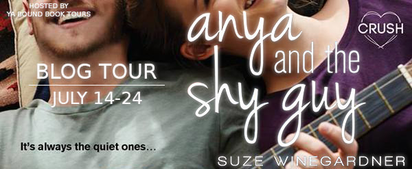 Review: Anya and the Shy Guy by Suze Weingardner (Blog Tour & Giveaway)