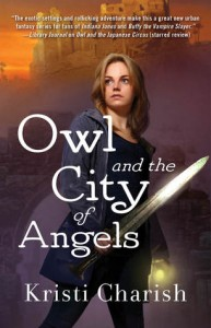 cover owl and the city of angels by kristi charish