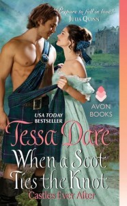 cover when a scot ties the knot by tessa dare