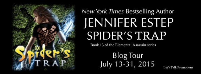 Early Review: Spider's Trap by Jennifer Estep (Blog Tour & Giveaway)
