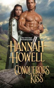 cover conquerors kiss by hannah howell