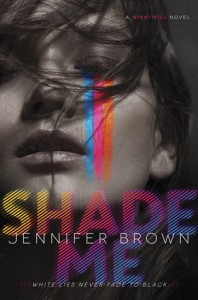 cover shade me by jennifer brown