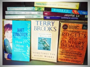 3. A never-ending collection of writing books