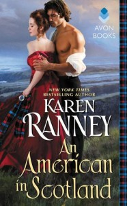 cover an american in scotland by karen ranney