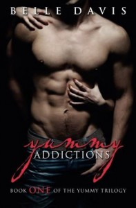 cover yummy addictions by belle davis
