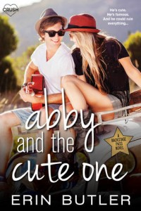 cover abby and the cute one by erin butler