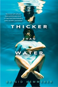 cover thicker than water by brigid kemmerer