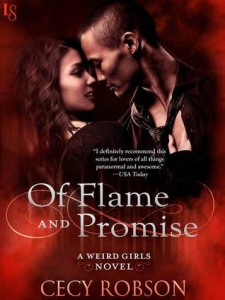cover of flame and promise by cecy robson