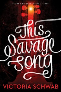 cover this savage song by victoria schwab