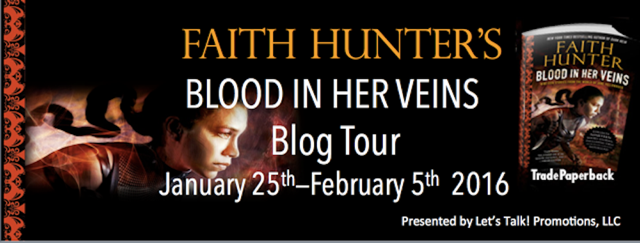 Early Review & Giveaway: Blood In Her Veins by Faith Hunter (Blog Tour)