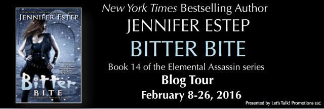 Q & A + Giveaway: Bitter Bite by Jennifer Estep