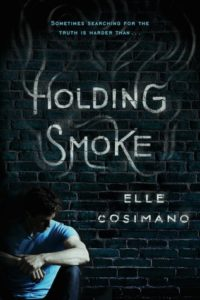 cover holding smoke by elle cosimano