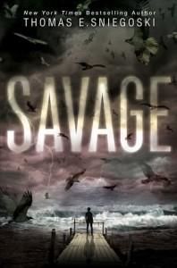 cover savage by thomas sniegoski