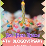 4th Blogoversary & Giveaway!
