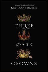 cover three dark crowns by kendare blake