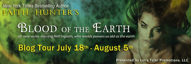 Review & Giveaway: Blood of the Earth by Faith Hunter (Blog Tour)