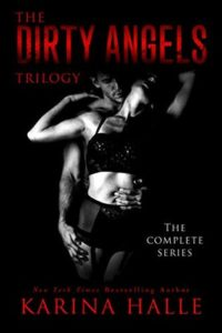 cover the dirty angels trilogy by karina halle