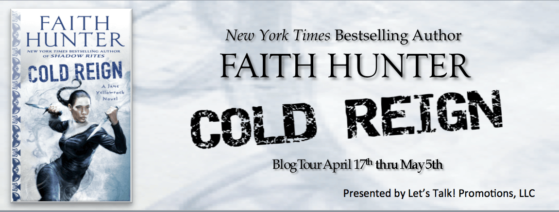 Early Review: Cold Reign by Faith Hunter (Blog Tour & Giveaway)