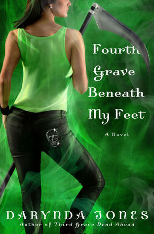 Review: Fourth Grave Beneath My Feet by Darynda Jones